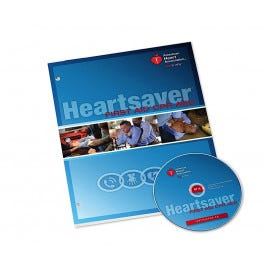 Heartsaver First Aid CPR AED DVD Set 2015