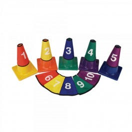 Numbered Cone Covers,