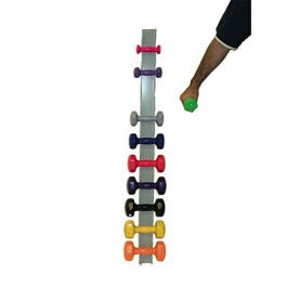 Cando Wall Mounted Dumbell Rack