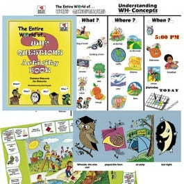 The Entire World of WH? Questions Activity Set