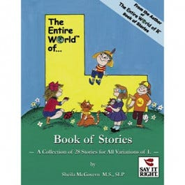 The Entire World of L Book of Stories