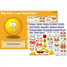 Feelings and Emotions Magnetic Wall Sticker