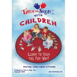 Time to Sign with Children DVD