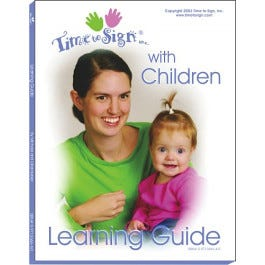Time to Sign Learning Guide with DVD