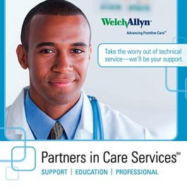 Welch Allyn Partners in Care with Calibration Extended Warranty Programs