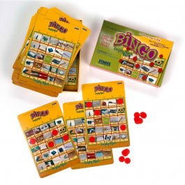 Stages Learning Bingo Games