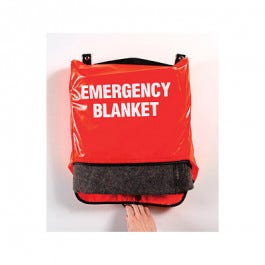 Emergency Blanket Wall Mount/Carry Bag (Without Blanket)