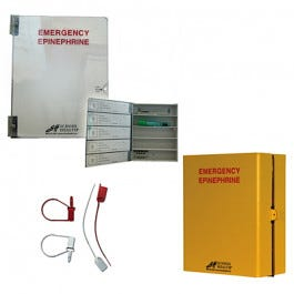 School Health Epinephrine Emergency Cabinet