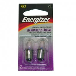 Flashlight Replacement Bulb 2/Package