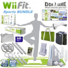 Nintendo Wii Fit Sports Package
