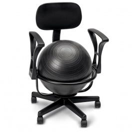 Metal Ball Chair (with arms)