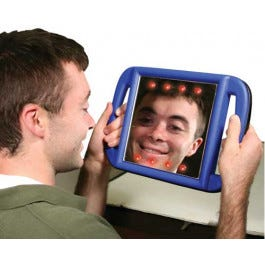 Lighted Vibrating Mirror