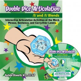 Double Dice Articulation /l/ and /l/ Blends