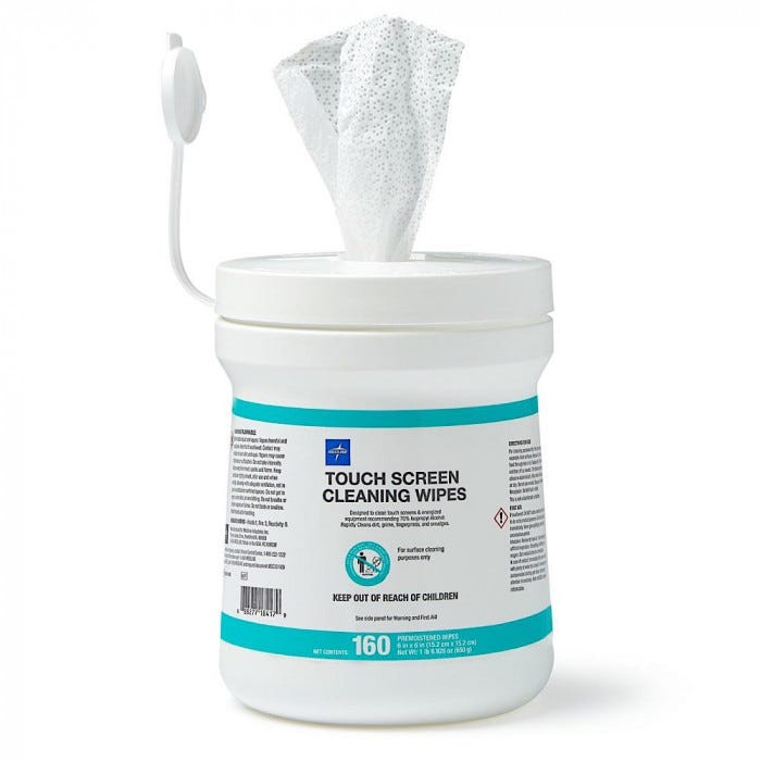 Touch Screen 70 Isopropyl Cleaning Wipes