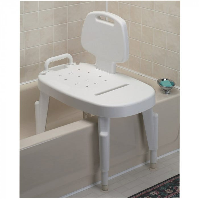 Adjustable Shower Transfer Bench - Bathing - Living Aids - Special ...