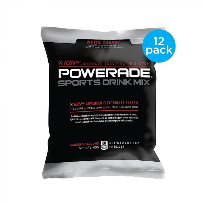 Powerade 5 Gal Powder Mix Powder Amp Mix Hydration