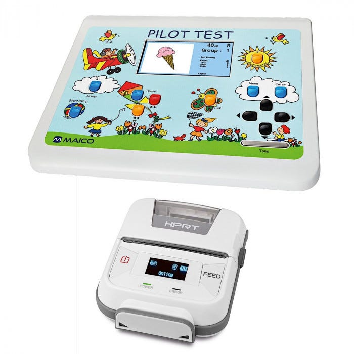 Maico Pilot Audiometer And Printer Audiometers