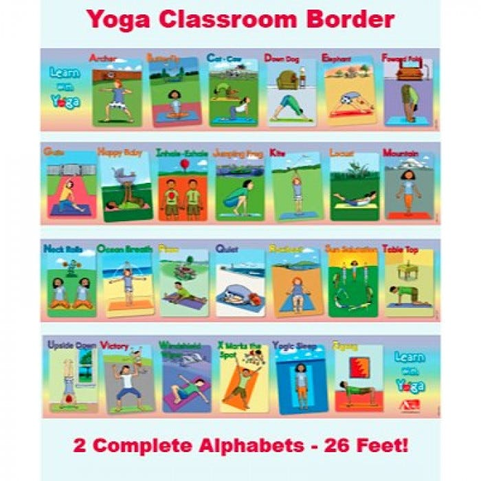 Learn with yoga abc yoga classroom border altavistaventures Images