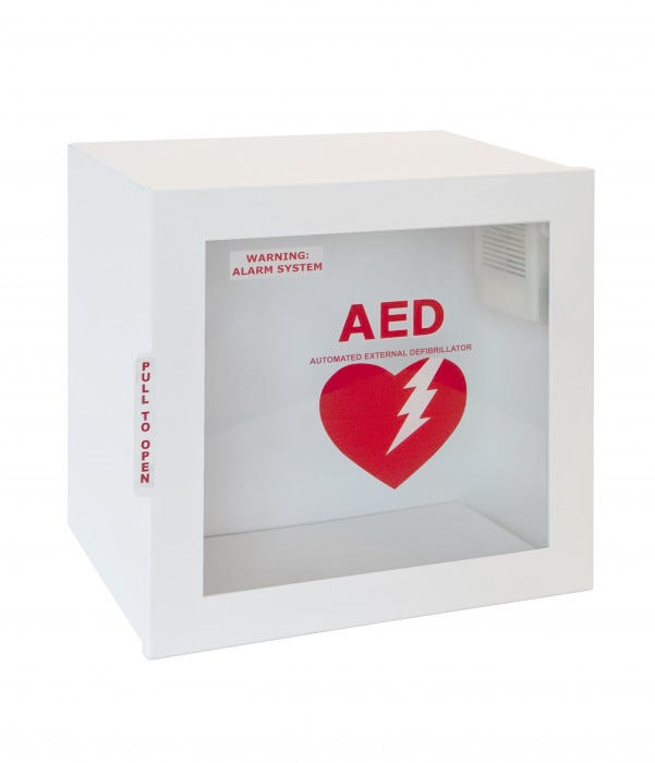 Surface Mount Aed Wall Cabinet 9 Quot Deep With Alarm