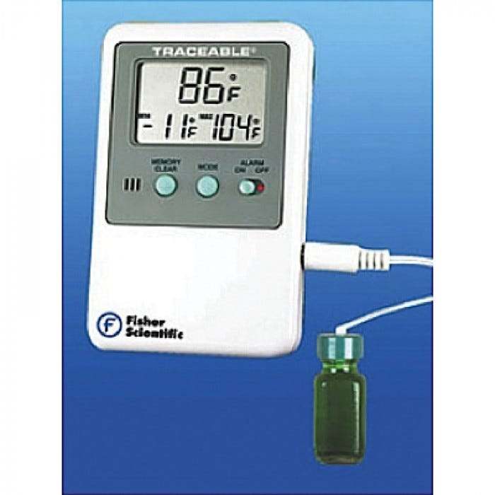 Digital Refrigerator Freezer Thermometer With Alarm