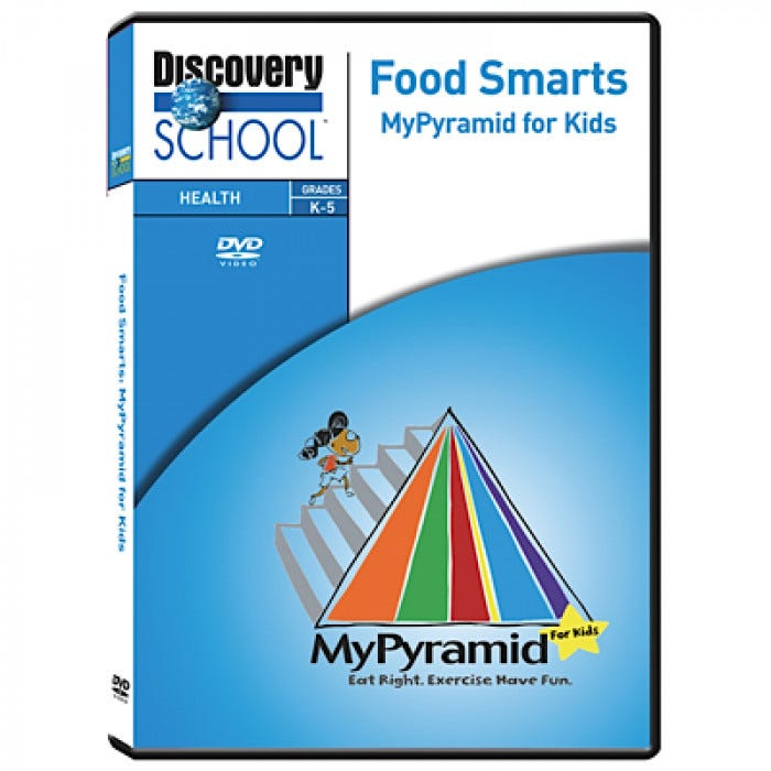Food Smarts: My Pyramid for Kids DVD
