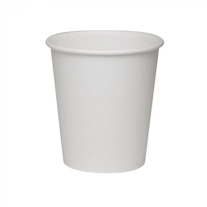 3 Oz Paper Flat Bottom Cup 100 Tube