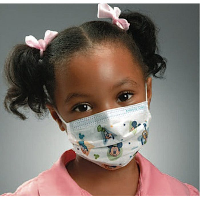 kids surgical mask 3m