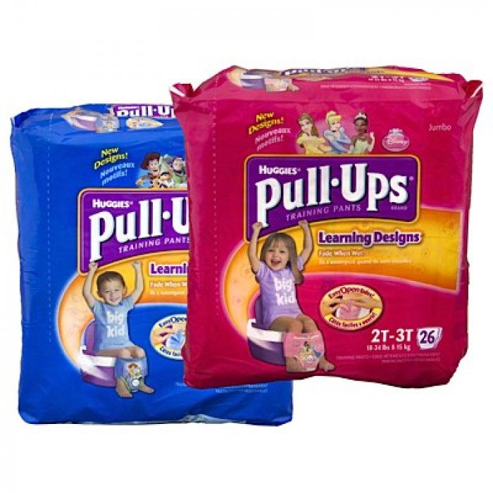 Huggies Pull Ups Training Pants In Bags Toileting