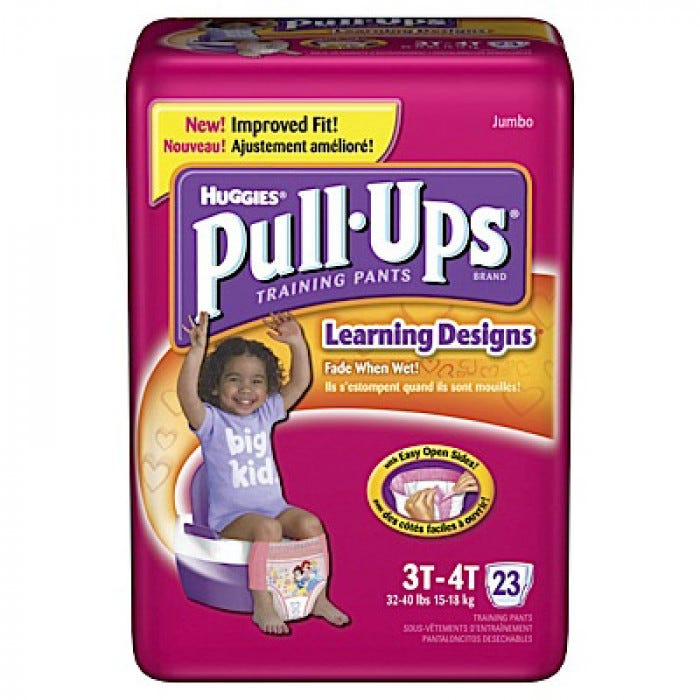 Huggies Pull-Ups Training Pants in Bags - Toileting - Living