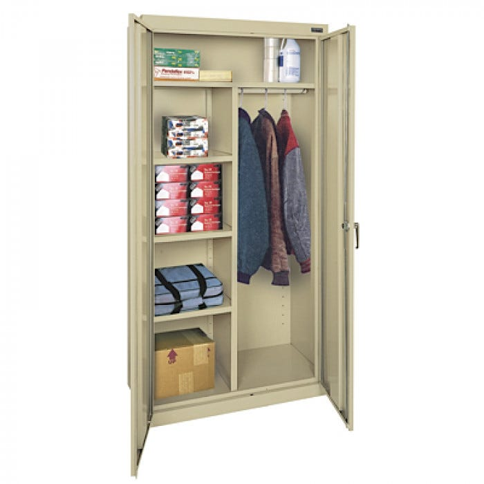 Combination Cabinet with Adjustable Shelves