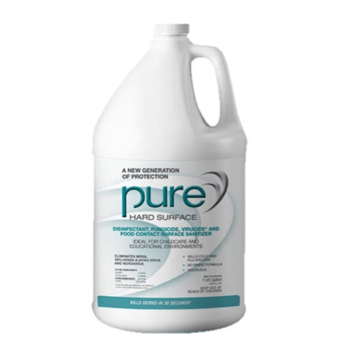 Pure Hard Surface Disinfectant Schoolhealth Com And