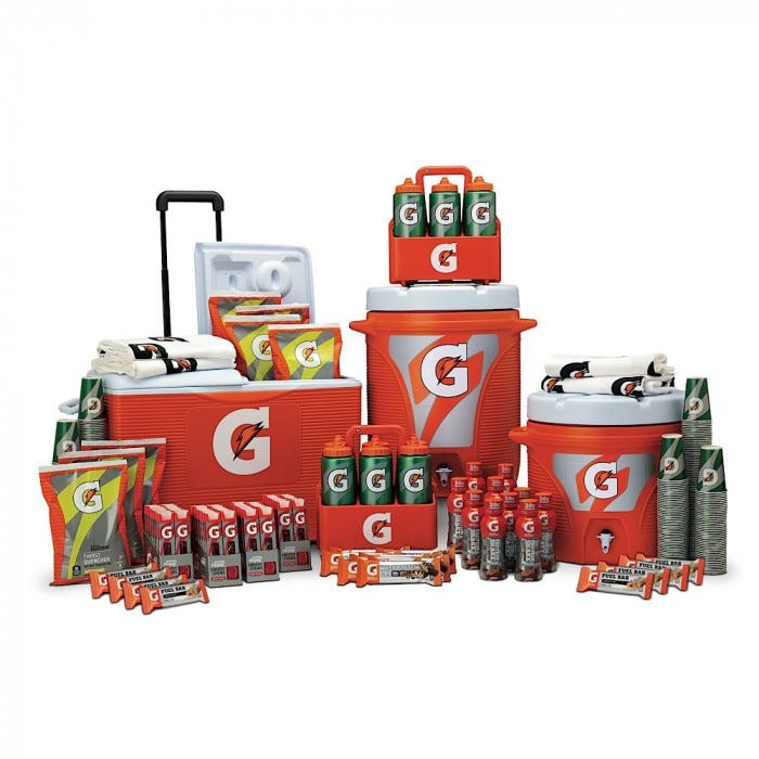 gatorade g series performance package gatorade high school sidelines packages hydration. Black Bedroom Furniture Sets. Home Design Ideas