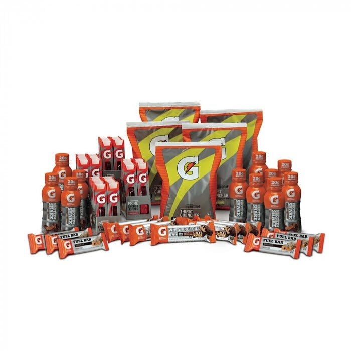 Gatorade Create Your Own G Series Performance Package