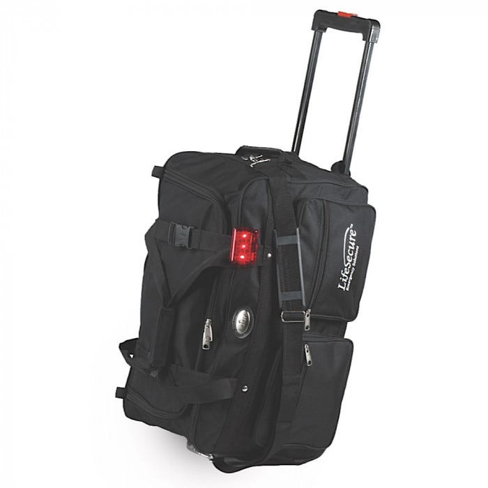 51d6def008e9 Rolling Duffel Bag with LED Safety Signal