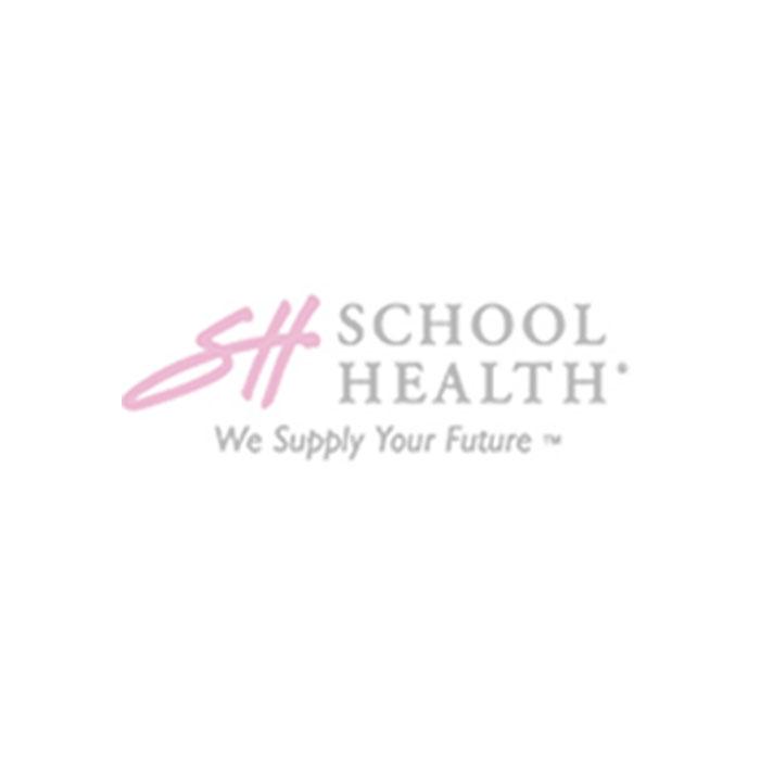 School Health 50 Person, 196-Piece Bulk First-Aid Kit- Metal
