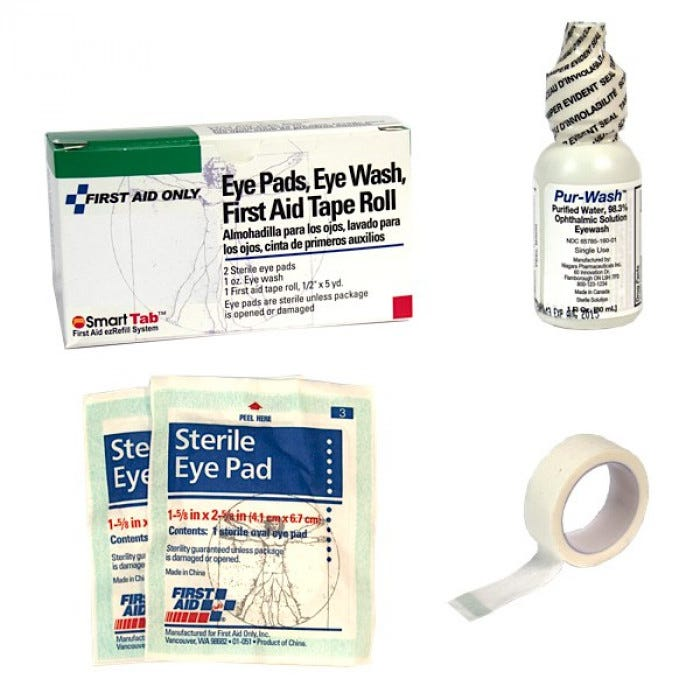 First Aid Eye Kit