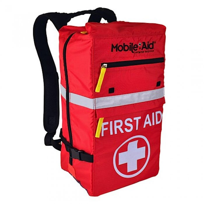 Reflex 100 First Aid Backpack Empty Mobileaid First