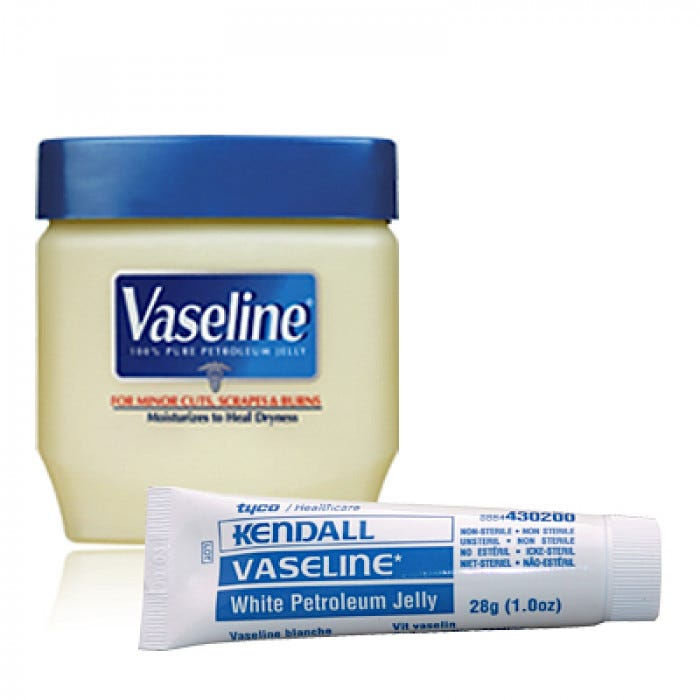 petroleum jelly Applying inexpensive petroleum jelly to a new baby daily for the first six months of life may reduce the risk that the infant will develop eczema, which can be a lifelong torment, according to a new analysis two studies done in newborns with relatives suffering from atopic dermatitis, the most.