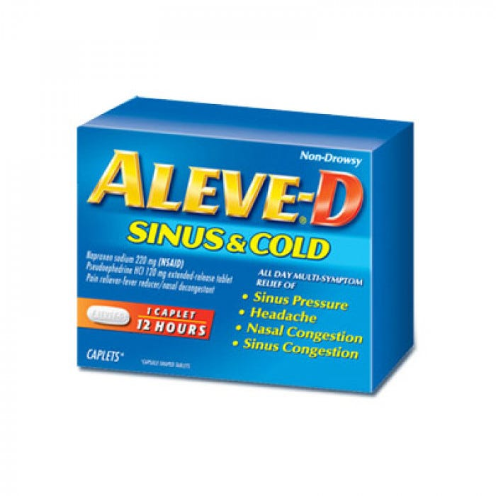 Aleve Cold And Sinus 20box