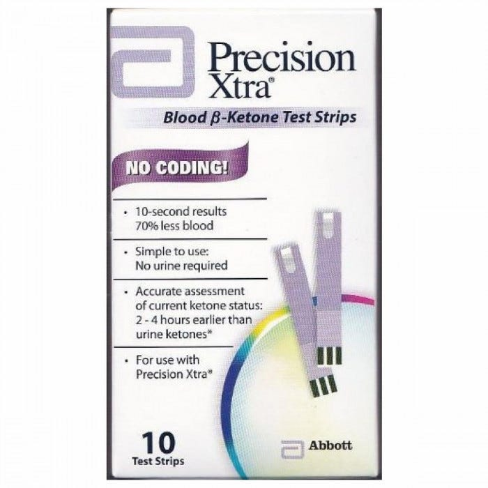 Precision Xtra Ketone Test Strips 50 Package