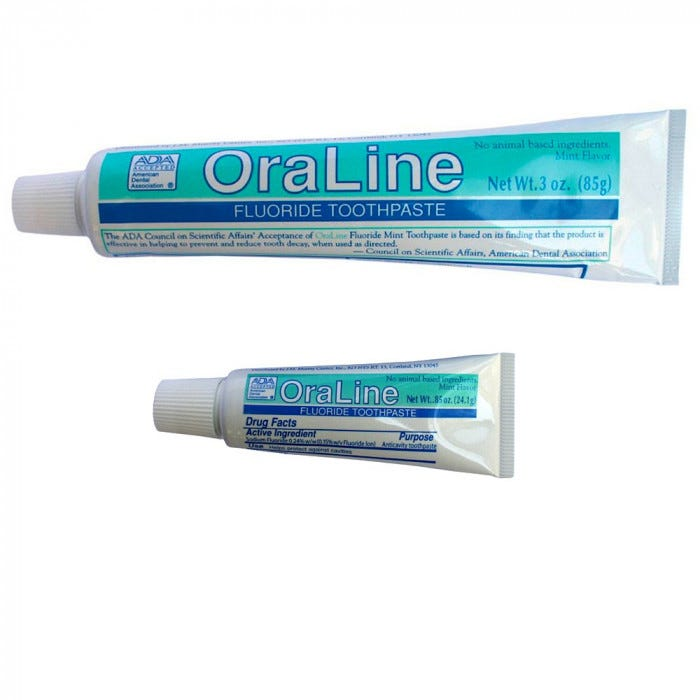 OraLine Mint Fluoride Toothpaste