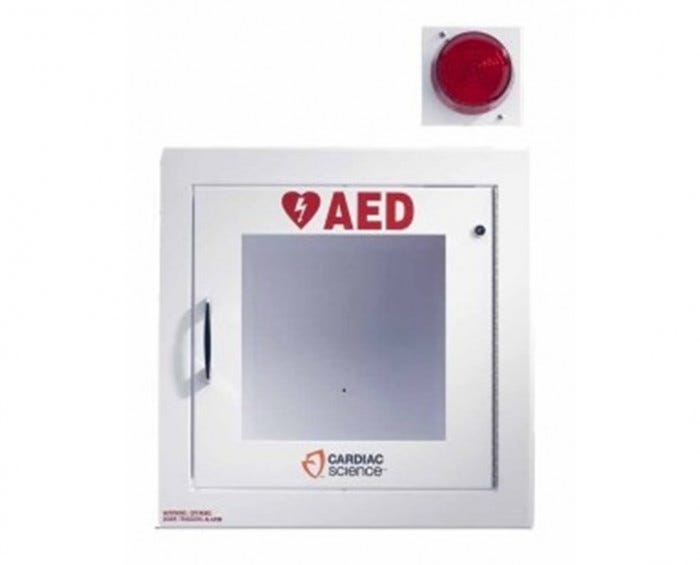Cardiac Science Surface Mount Aed Wall Cabinet With Alarm