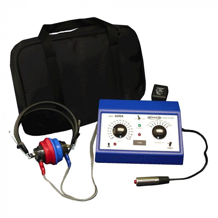 Ambco 650a Audiometer Audiometers Audiometers