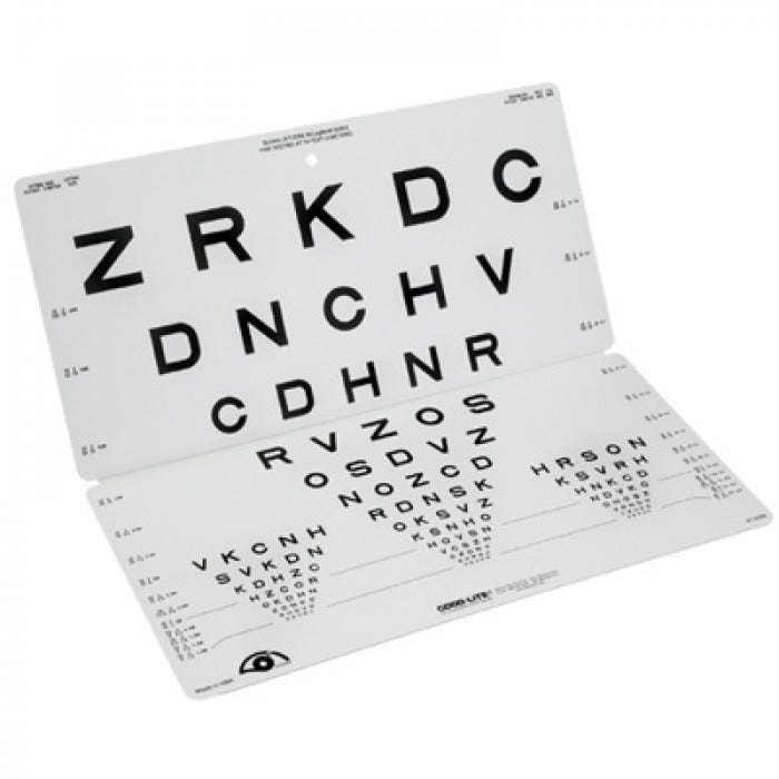 28 FREE SLOAN LETTERS FOLDING EYE CHART PDF DOWNLOAD DOCX