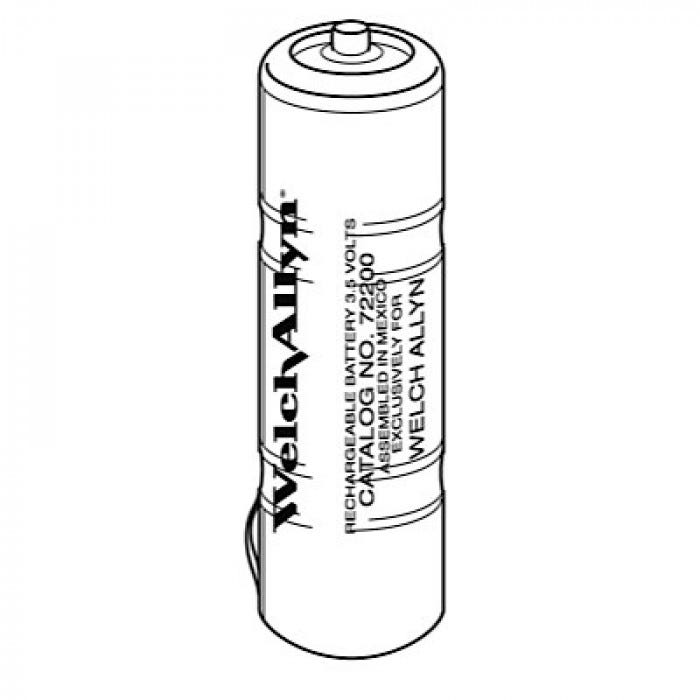 Welch Allyn Rechargeable Battery For 3 5 Volt Halogen