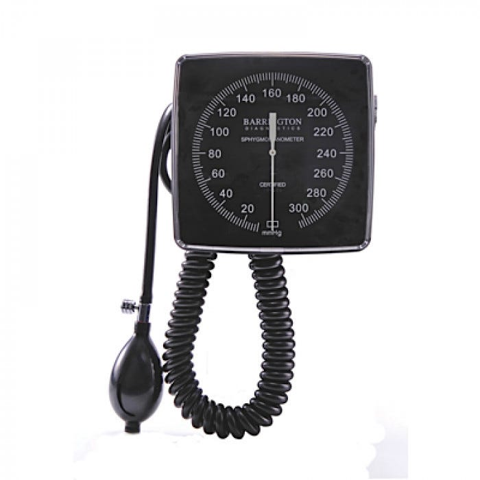 Wall And Mobile Aneroid Sphygmomanometer And Inflation Systems