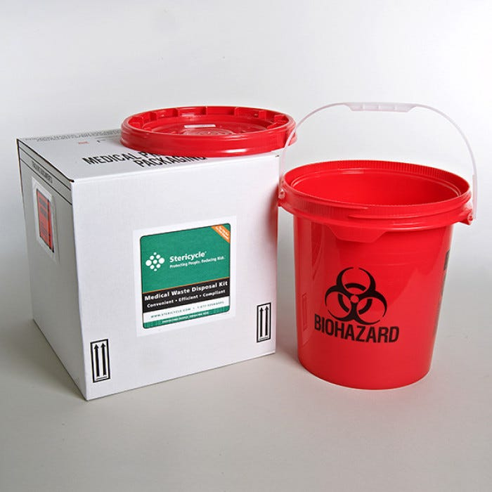 Sharps Disposal By Mail System 5 Gallon