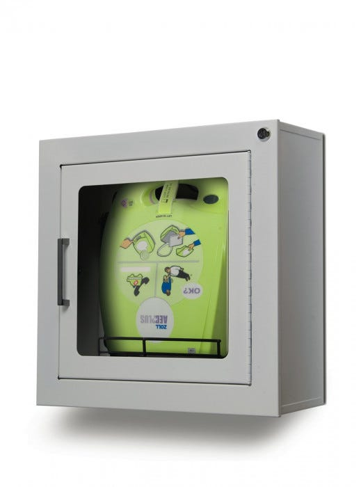 Zoll Aed Plus Surface Mount Cabinet Zoll Aed Wall
