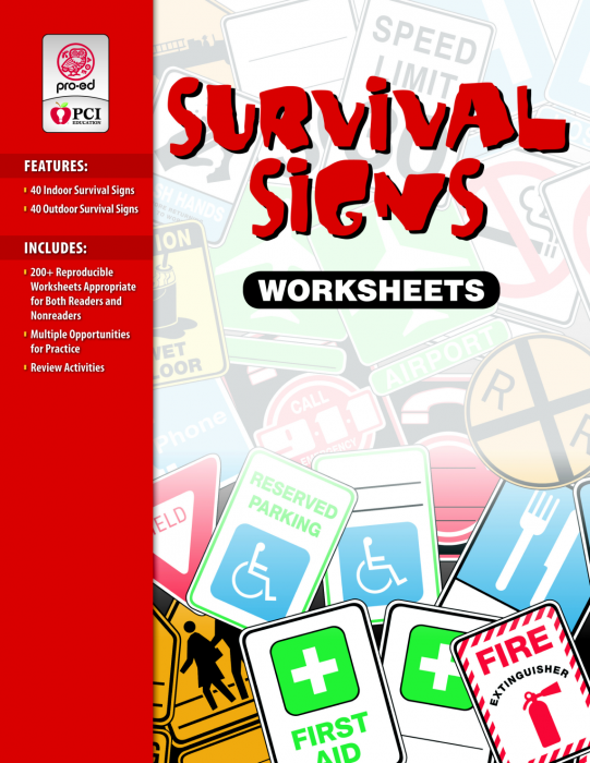 Survival Signs Curriculum - Life & Social Skills - Learning ...