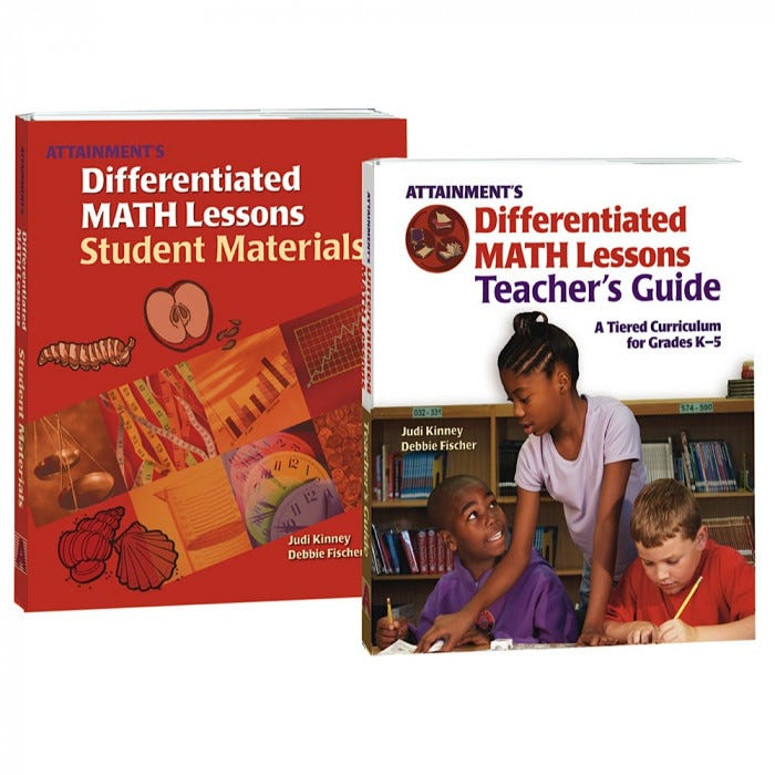 Differentiated Math Lessons Instruction Mathematics Subjects
